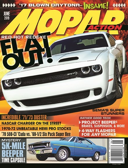 Mopar Action Cover - 6/1/2019