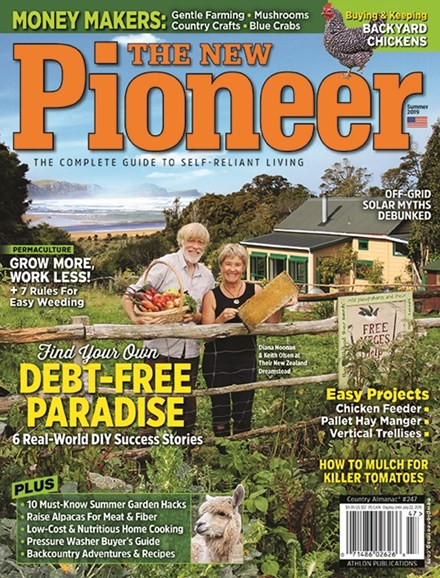 The New Pioneer Cover - 6/1/2019