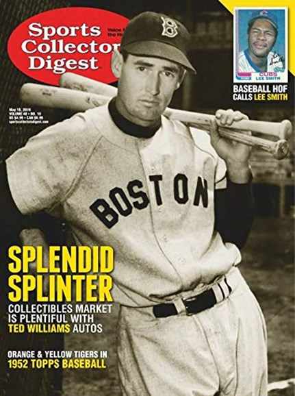 Sports Collectors Digest Cover - 5/13/2019