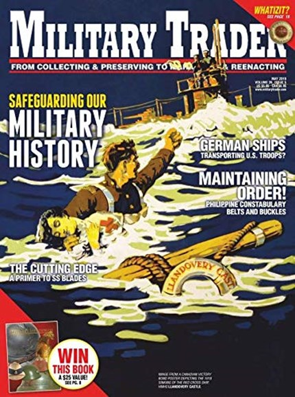 Military Trader Cover - 5/1/2019