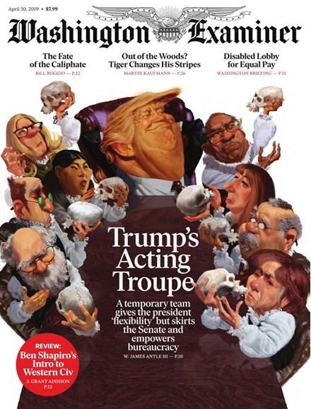 Washington Examiner Cover - 4/30/2019