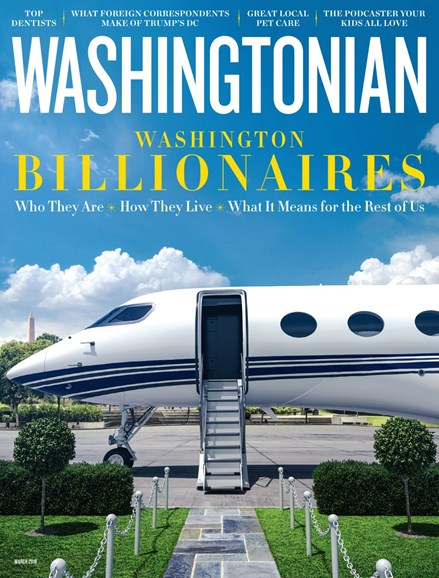 Washingtonian Cover - 3/1/2019