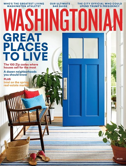 Washingtonian Cover - 4/1/2019