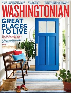 Washingtonian | 4/2019 Cover