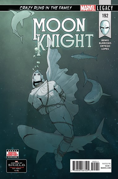 Moon Knight Cover - 4/1/2018