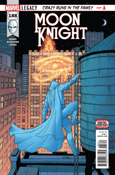 Moon Knight Cover - 1/1/2018
