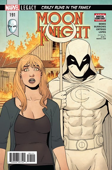 Moon Knight Cover - 3/1/2018