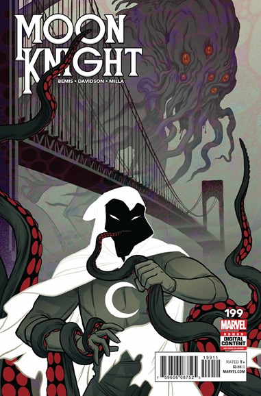 Moon Knight Cover - 11/1/2018