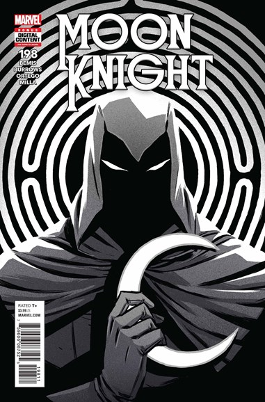 Moon Knight Cover - 10/1/2018