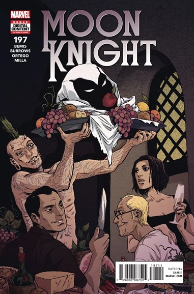 Moon Knight Cover - 9/1/2018