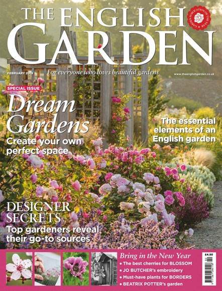 The English Garden Cover - 2/1/2019