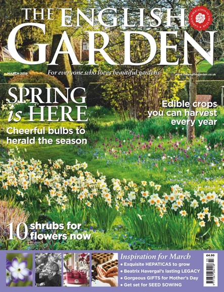 The English Garden Cover - 3/1/2019