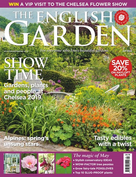 The English Garden Cover - 5/1/2019