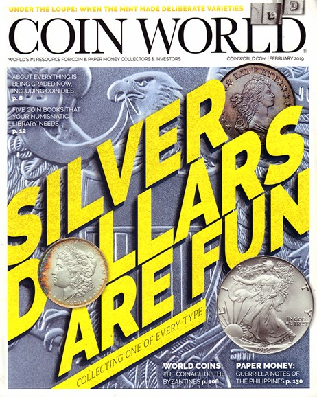 Coin World Weekly Cover - 2/1/2019