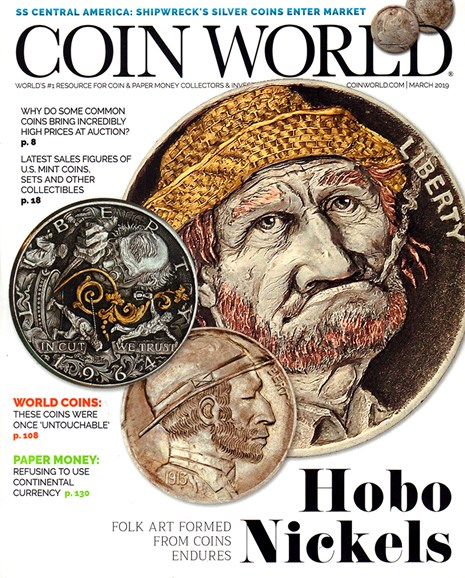 Coin World Monthly Cover - 3/1/2019