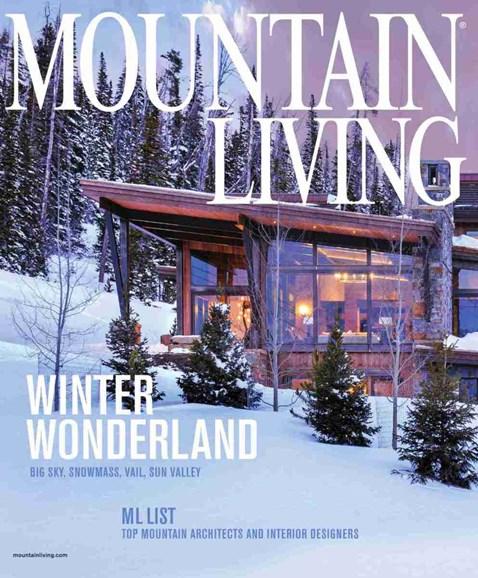 Mountain Living Cover - 1/1/2019