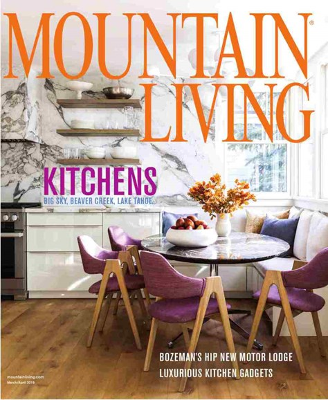 Mountain Living Cover - 3/1/2019