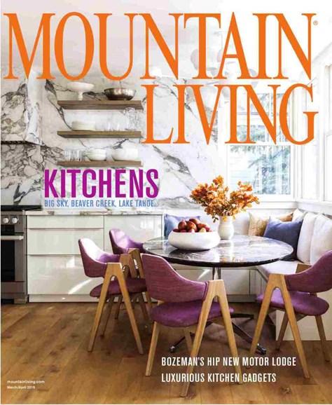 Mountain Living Cover - 3/1/2019