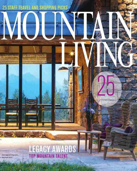 Mountain Living Cover - 5/1/2019