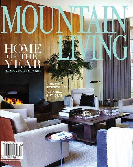 Mountain Living Cover - 11/1/2018