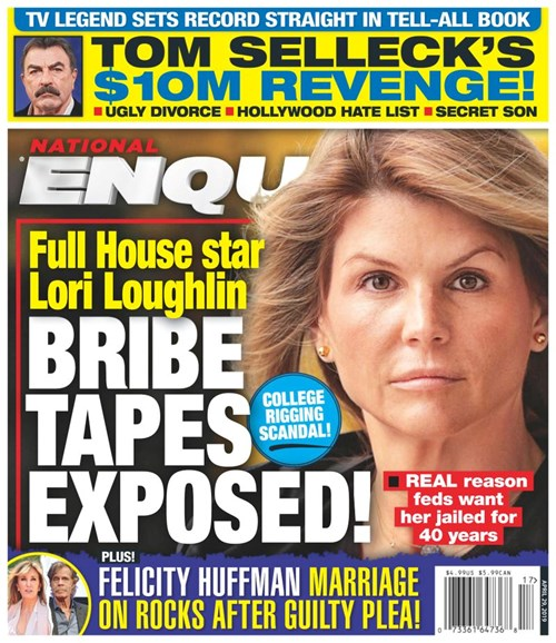 National Enquirer Cover - 4/29/2019
