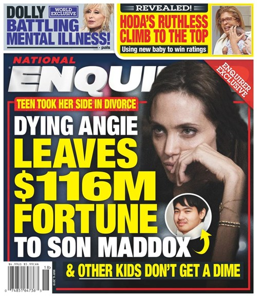 National Enquirer Cover - 5/6/2019