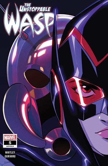 Unstoppable Wasp Cover - 4/1/2019