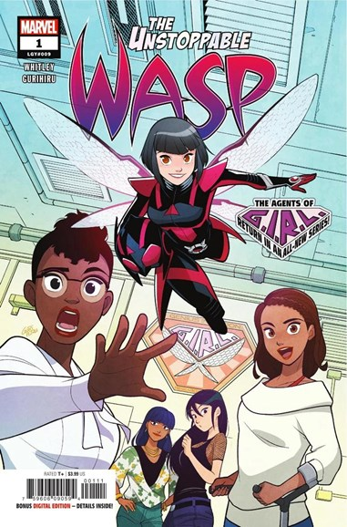 Unstoppable Wasp Cover - 12/1/2018