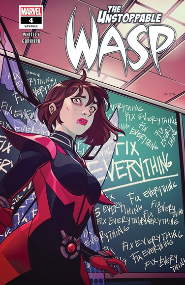 Unstoppable Wasp Cover - 3/1/2019