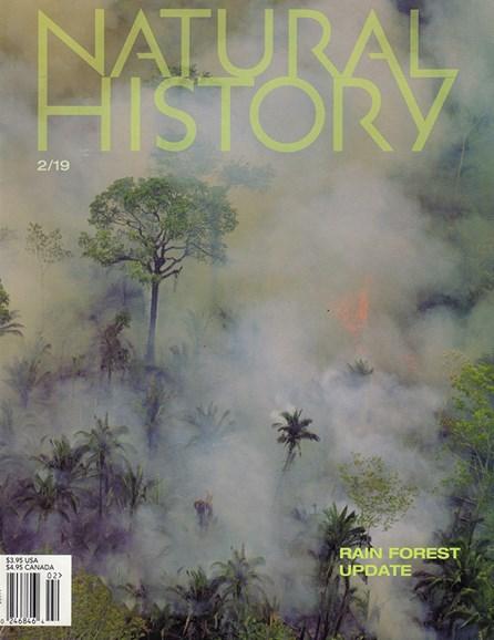 Natural History Cover - 2/1/2019