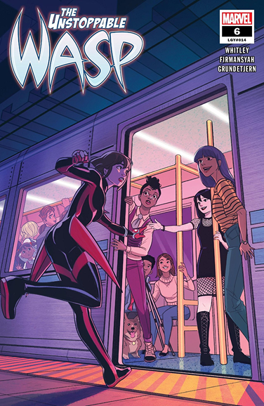 Unstoppable Wasp Cover - 6/1/2019