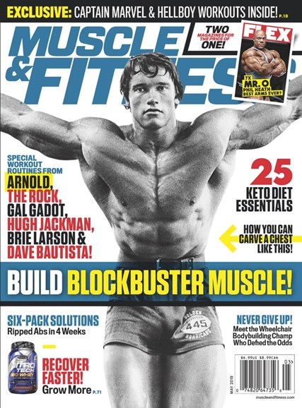 Muscle & Fitness Cover - 5/1/2019