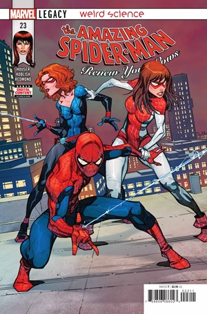 Amazing Spider-Man: Renew Your Vows | 11/1/2018 Cover