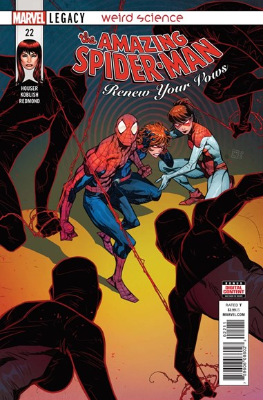 Amazing Spider-Man: Renew Your Vows Cover - 10/1/2018