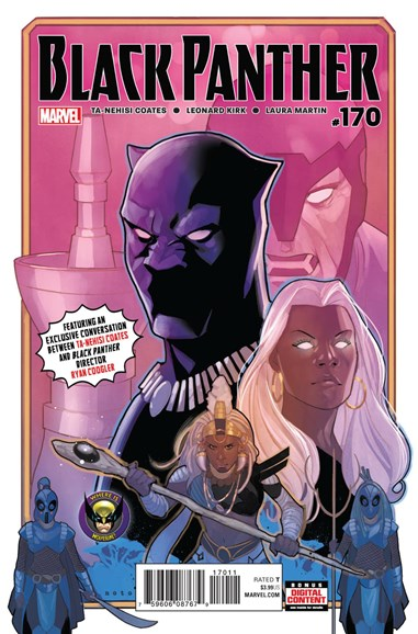 Black Panther Cover - 4/1/2018