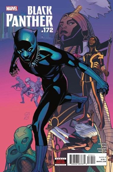 Black Panther Cover - 6/1/2018
