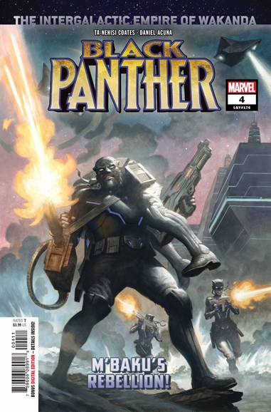 Black Panther Cover - 11/1/2018