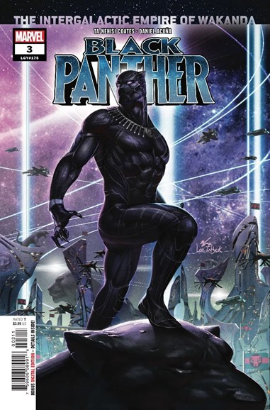 Black Panther Cover - 10/1/2018