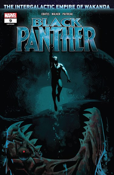Black Panther Cover - 4/1/2019