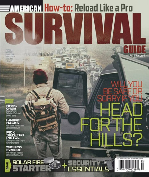 American Survival Guide Cover - 2/1/2019