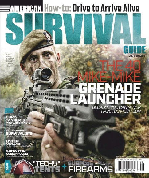 American Survival Guide Cover - 6/1/2019