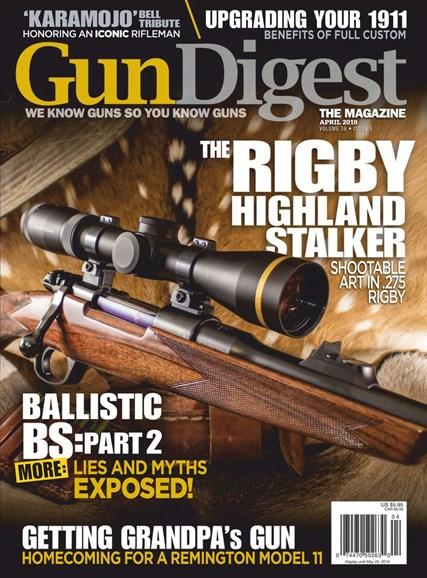 Gun Digest Cover - 4/1/2019