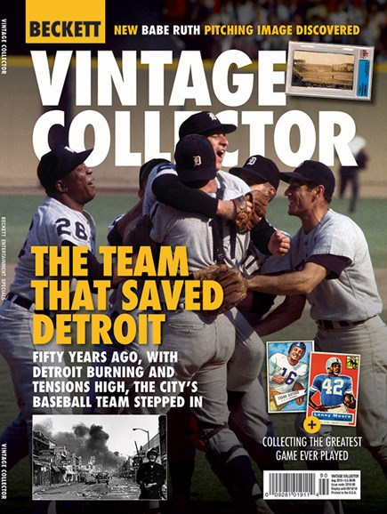 Beckett Vintage Collector Cover - 8/1/2018