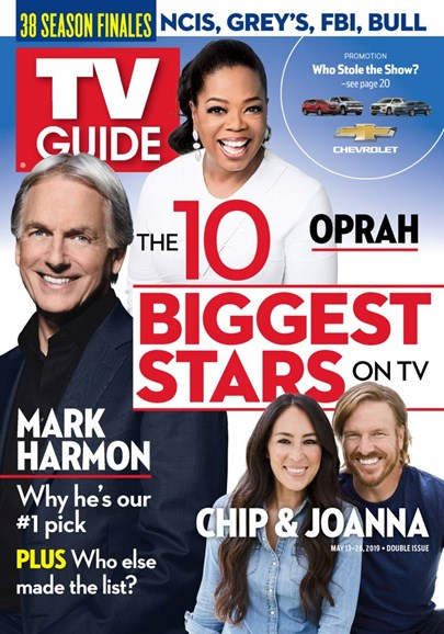 TV Guide Cover - 5/13/2019