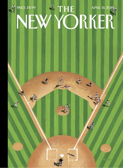 The New Yorker Cover - 4/15/2019