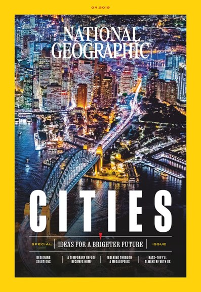 National Geographic Cover - 4/1/2019