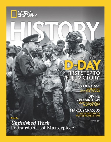 National Geographic History Cover - 5/1/2019