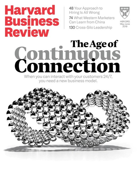 Harvard Business Review Cover - 5/1/2019