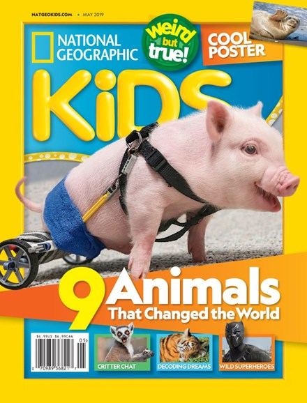 National Geographic Kids Cover - 5/1/2019