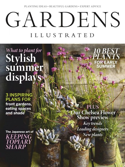 Gardens Illustrated Cover - 5/1/2019